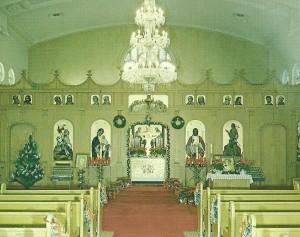 Inside St George on Woodlawn