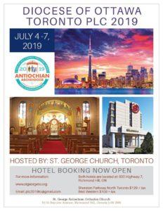 Toronto PLC AD 2019